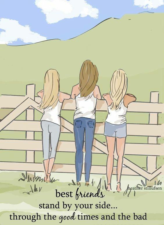 Pin By Virginia Lovell On Friends Friendship Three Best Friends Quotes Heather Stillufsen Heather Stillufsen Quotes