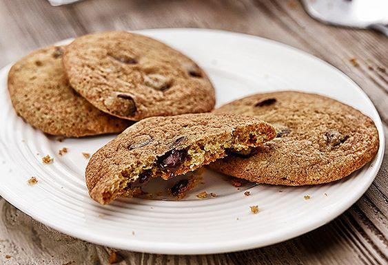 Billington's chewy chocolate chip cookies