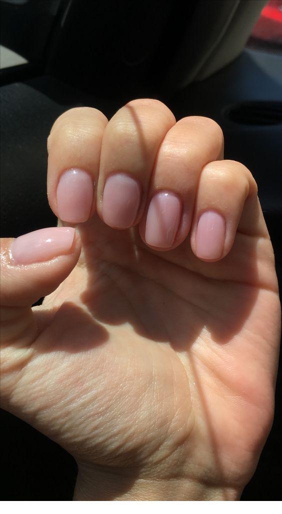 Short Pink Nails Chicladies Uk Short Pink Nails Pink Nails Minimalist Nails
