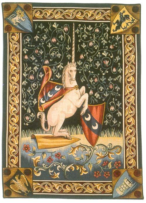 Resultado de imagen de tapiz unicornio