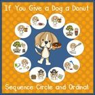 if you give a dog a donut sequencing activities laura numeroff the o 39 jays and donuts. Black Bedroom Furniture Sets. Home Design Ideas