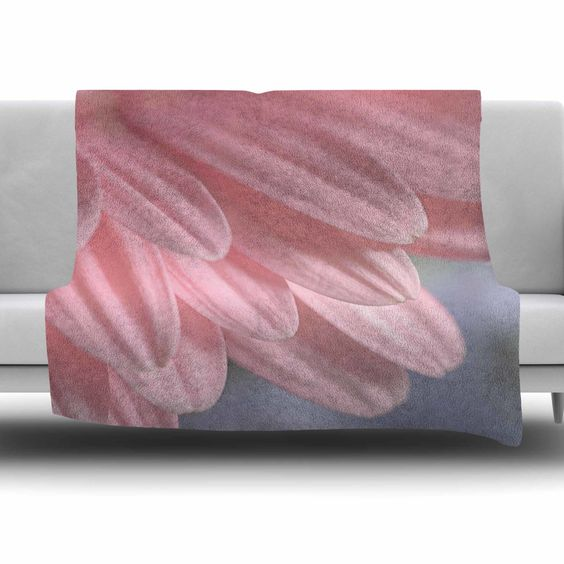 Airy by Suzanne Harford Fleece Blanket