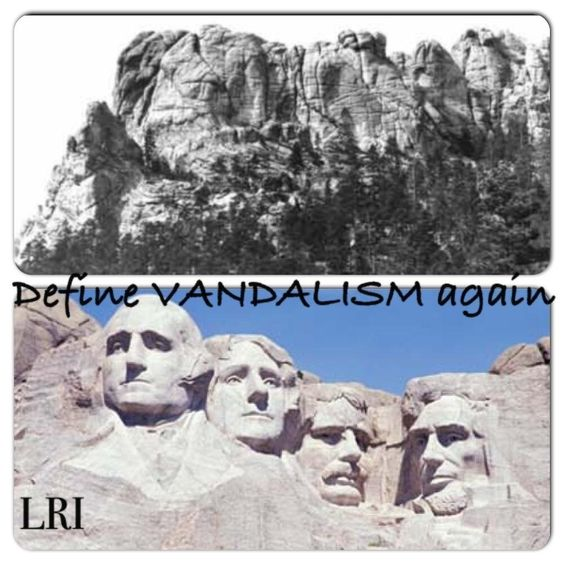 """Everyone must remember that """"Mt. Rushmore"""" (the Black Hills) does not legally belong to the federal government, and especially not to South Dakota.  It was acknowledged as belonging to the sovereign Lakota Nation in the Sioux Treaty of 1868.  The federal government STOLE the Hills from the Lakota, breaking the law they wrote with their own hands!  The US is a repeat criminal but no one holds them accountable!"""