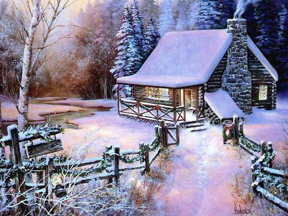 photo d'hiver paysage