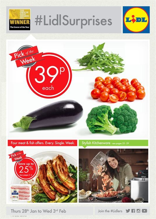 Lidl Offers 28th January - 3rd February 2016 - http://www.olcatalogue.co.uk/lidl/lidl-special-offers.html