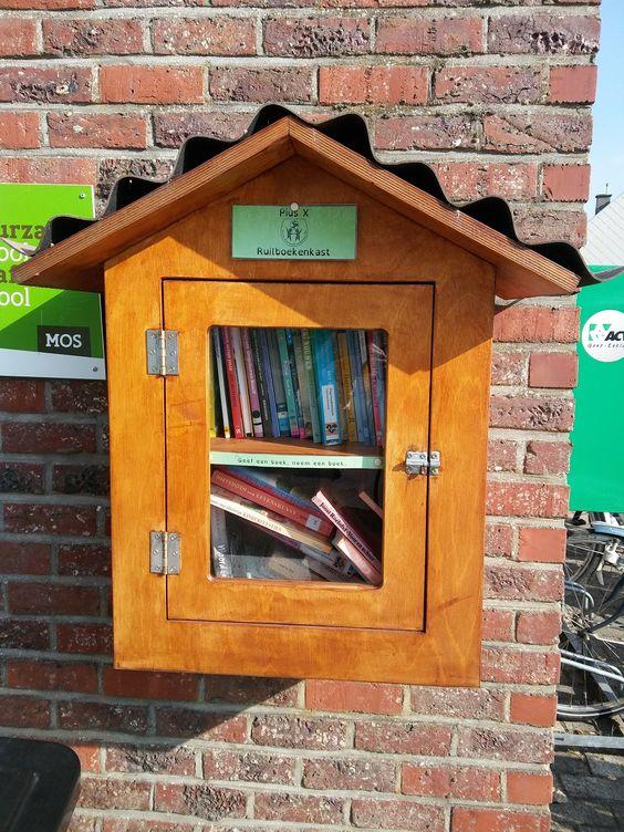 Boekenruilkast Destelbergen