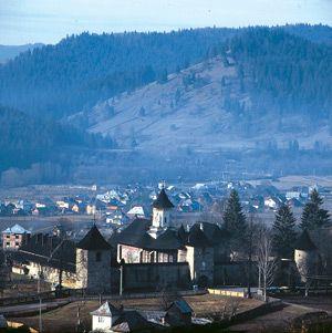 Moldovita Monastery - General view - Romania