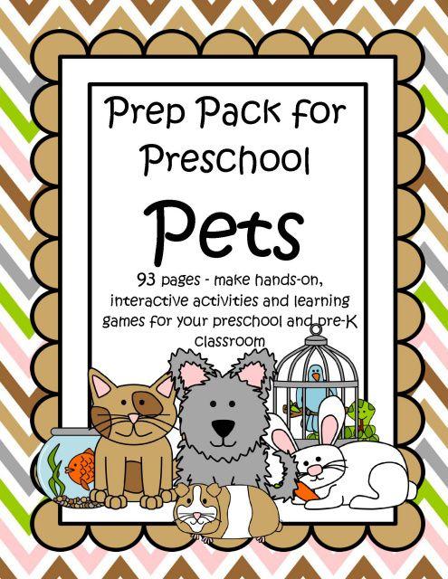 preschool lesson plans pets the world s catalog of ideas 403