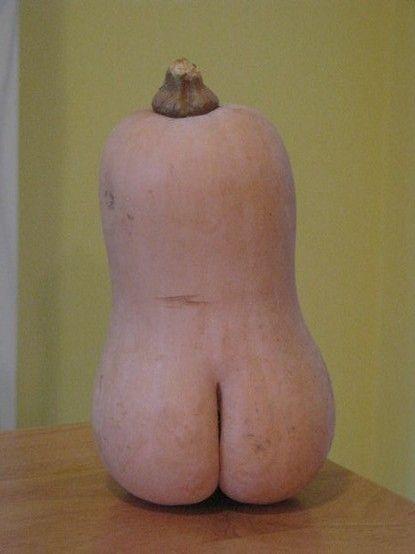 Food Humor - butt-ernut