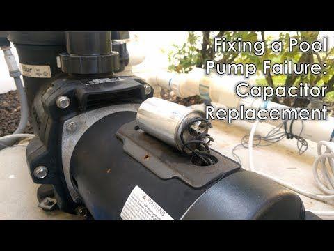 How To Fix Pool Pump Capacitor Pool Pump Pool