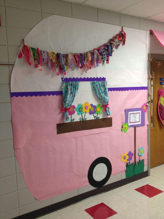 Camping Classroom Decoration ~ A c f e g pixels