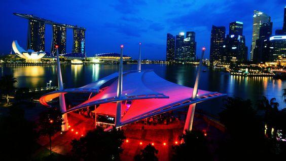 Esplanade Outdoor Theatre Esplanade Theatres By The Bay Singapore