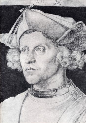 Albrecht Dürer - Portrait Of An Unknown Man, 1520