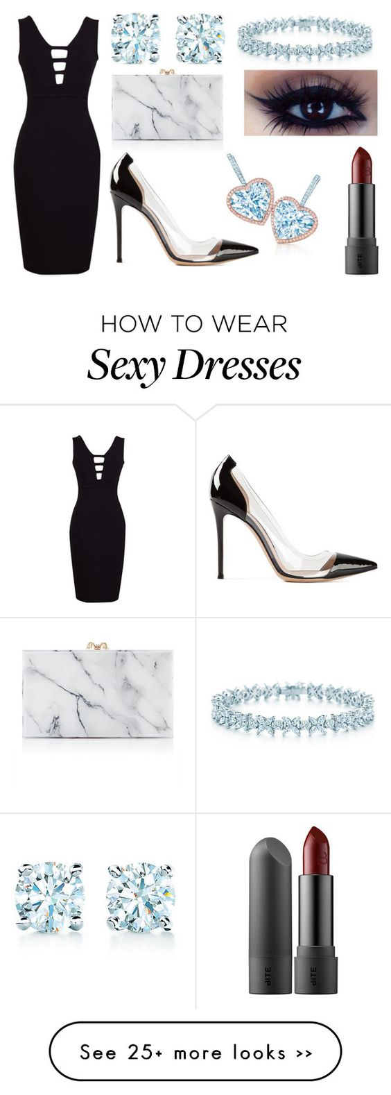 """Untitled #1"" by kenzienicole566 on Polyvore featuring Charlotte Olympia, Tiffany & Co. and Gianvito Rossi"