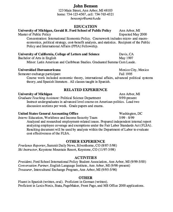 Freelance Reporter Resume Sample - http\/\/resumesdesign - public policy resume