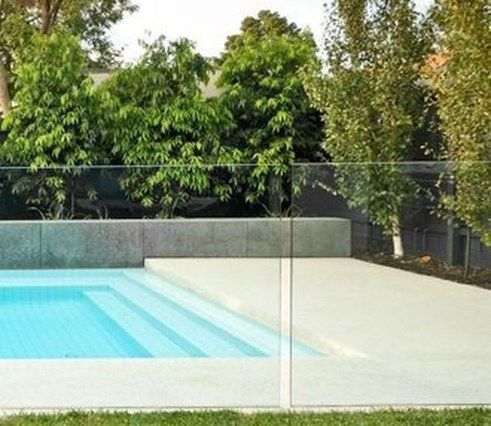 30 Stunning Glass Pool Design Ideas For Home To Try Glass Pool Fencing Pool Landscaping Pool Fence
