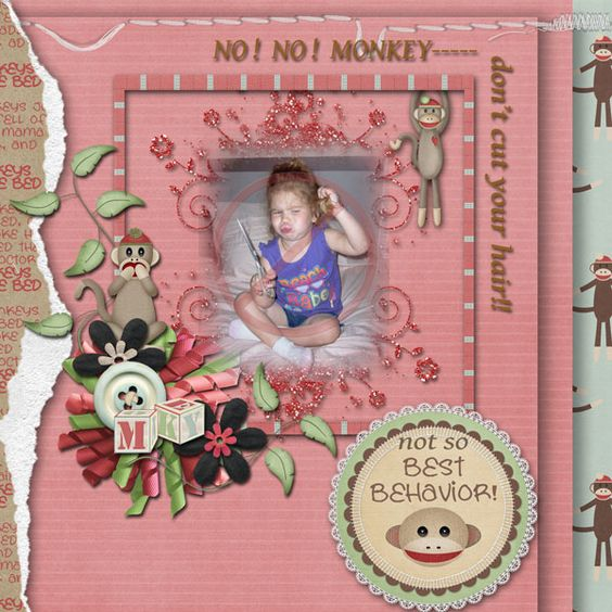 Created with adorable new sock monkey kit by #snickerdoodledesigns and #louceecreations at #thestudio.  See it here:  MONKEY BUSINESS: http://www.digitalscrapbookingstudio.com/store/index.php?main_page=product_info&cPath=315_316&products_id=27641
