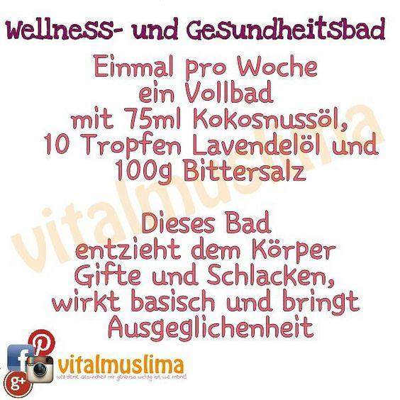 Entschlacken, entsäuern eine gesundheitliche Wohltat, die sich auszahlt. #vitalmuslima www.vitalmuslima.de.tl