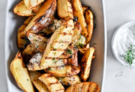 sour cream and onion oven fries
