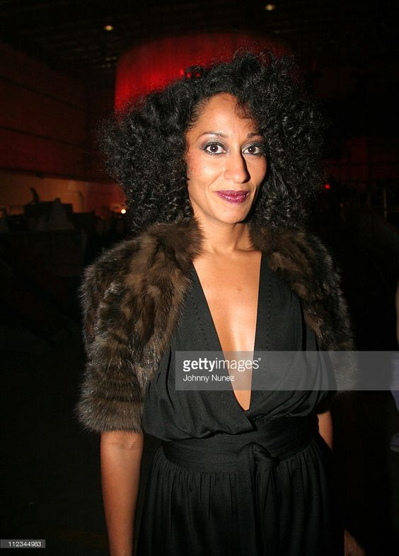 Tracee Ellis Ross during 2005 Vibe Awards - Backstage and Audience at Sony Studios in Culver City, California, United States.