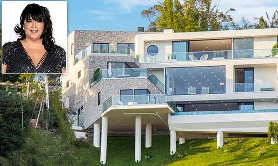 SEBASTIAN SHAKESPEARE: Mrs 50 Shades' luxury £5.4m LA pad