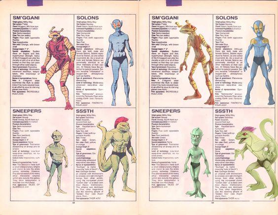 marvel aliens races scifi pinterest marvel and aliens