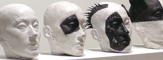 Transformation; 7-teilig; Beton, Eisen; L. 200 cm, H. 125 cm, 2005