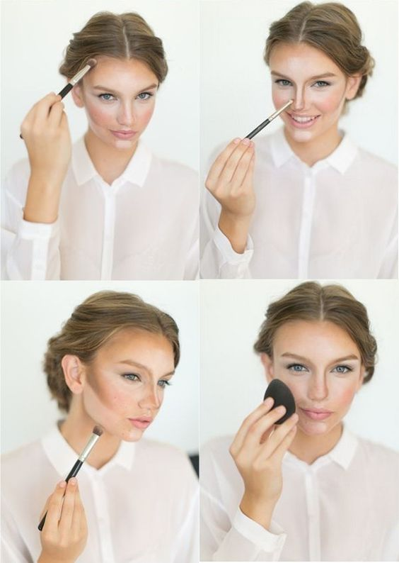 How To Apply Wedding Makeup Step By Step : Makeup step by step, Wedding preparation and How to apply ...