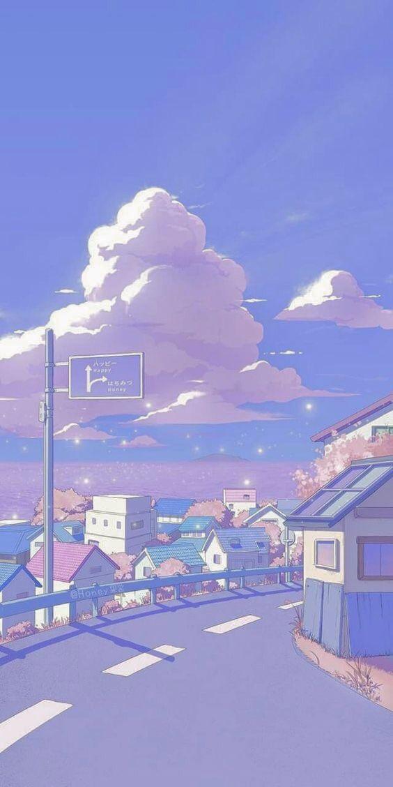 Soft Anime Wallpaper Aesthetic Anime Scenery Wallpaper Scenery Wallpaper Anime Backgrounds Wallpapers
