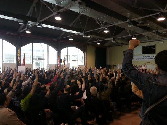 Convocadas movilizaciones en defensa de la Negociación Colectiva y los salarios del sector del Metal en la provincia de Barcelona