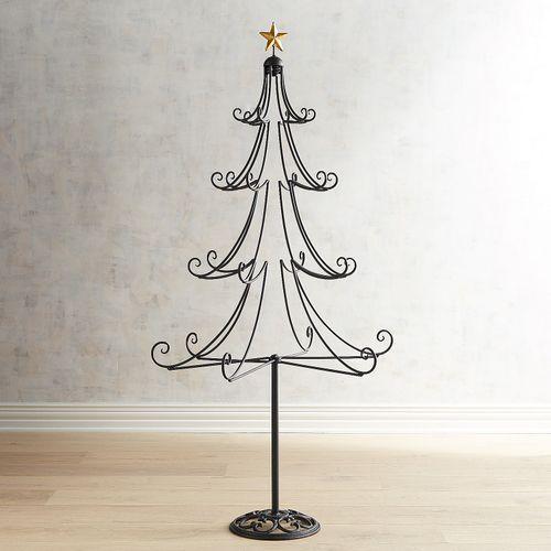 55 Black Christmas Tree Ornament Floor Stand Jewelry Christmas