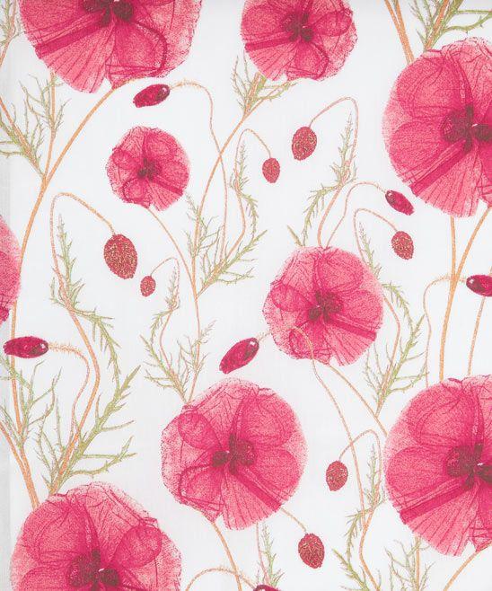 Hannah's Poppy A Tana Lawn - Liberty