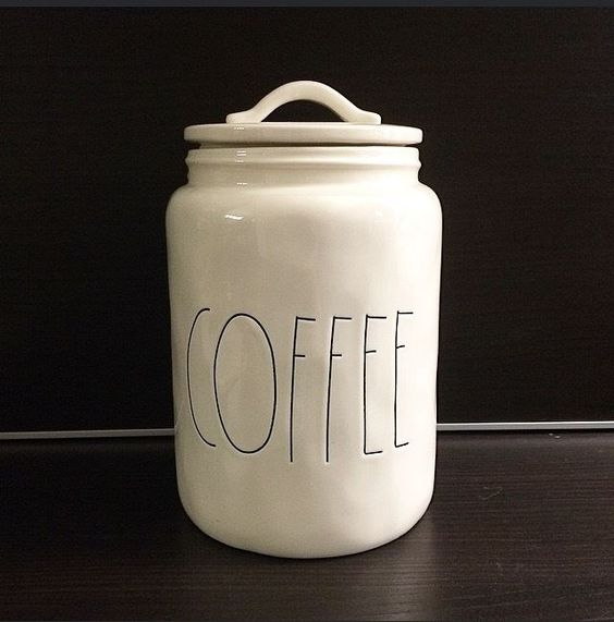 magenta by rae dunn coffee canister in my life