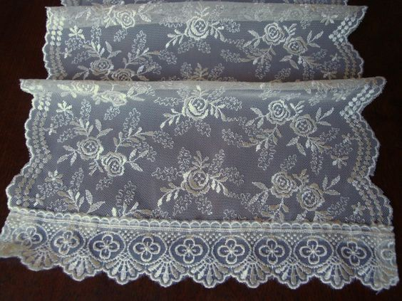 Quality linen fabric 145cm wide idea for curtains, cushions, upholstery and more. Lace table runners, curtain ties and more. Lace curtains from Turkey, worldwide shipping, affordable prices a must for the person with taste and quality in mind, can be seen in more details on ebay forevergreen2010 or geocities jp yume_lace original_details images, I'm sure you can receive details via mail from worldtuner yahoo com, so friendly people. Love to help, curtains and more.