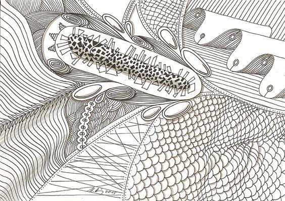 """""""nothing real"""", #Zeichnung #Pigmenttusche (Staedtler schwarzer Pigment  - Fineliner)  auf #Hahnemühle #Papier """"Skizze 190"""", 190 g/m2 21 x 30 cm, © #matthias #hennig 2015     """"nothing real"""", #india #ink #drawing (Staedtler black pigment ink fineliner) on  Hahnemühle  #paper """"Skizze 190"""",190 g/sqm 21 x 30 cm, © #matthias #hennig 2015"""