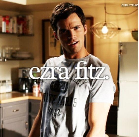 Ezra fitz/Ian Harding <3   Omg shoot me now, I think I'm in love.