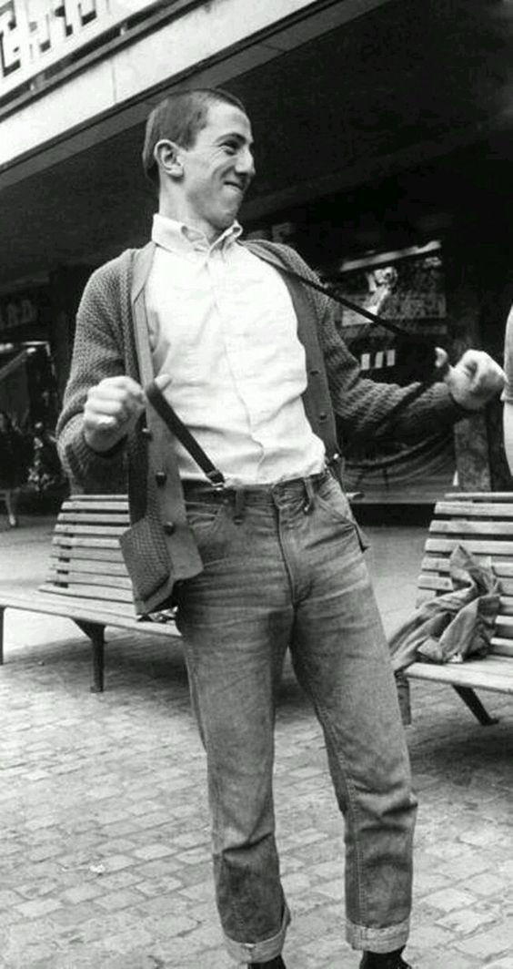 Cardy + plain shirt = a winning combo. Coventry, July 1969.  London skinhead blog at https://creaseslikeknives.wordpress.com/