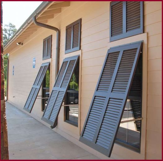 the bahama shutter from cobblestone mill woodworks