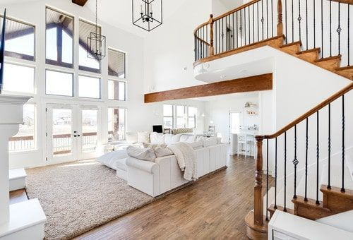 How To Arrange Furniture With An Open Concept Floor Plan In 2021 Open Concept Kitchen Living Room Layout Open Concept Kitchen Living Room Living Room Floor Plans