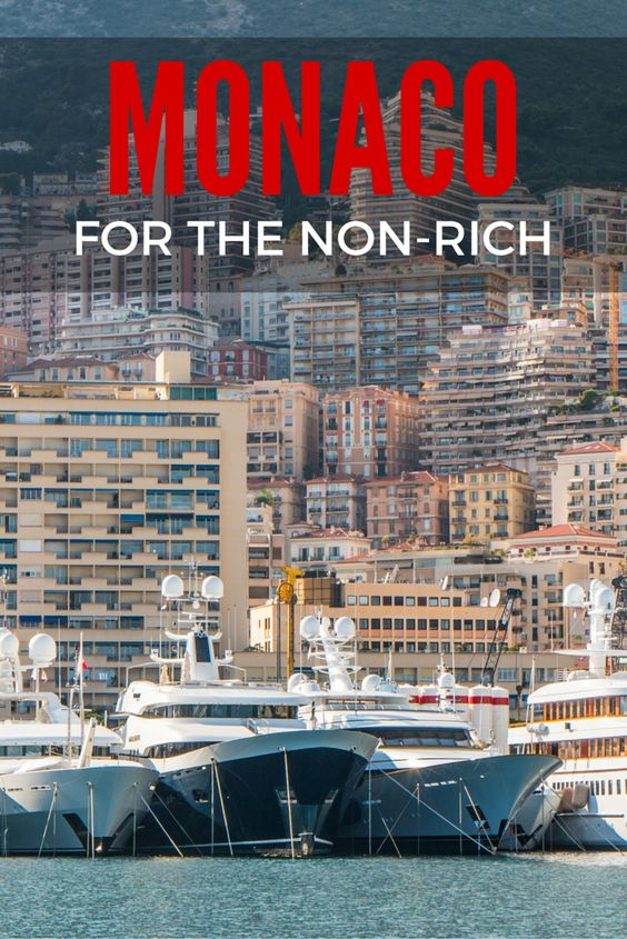The Principality of Monaco is known as a playground for rich and famous but this small country on the French Riviera is also worth visiting by regular travellers!