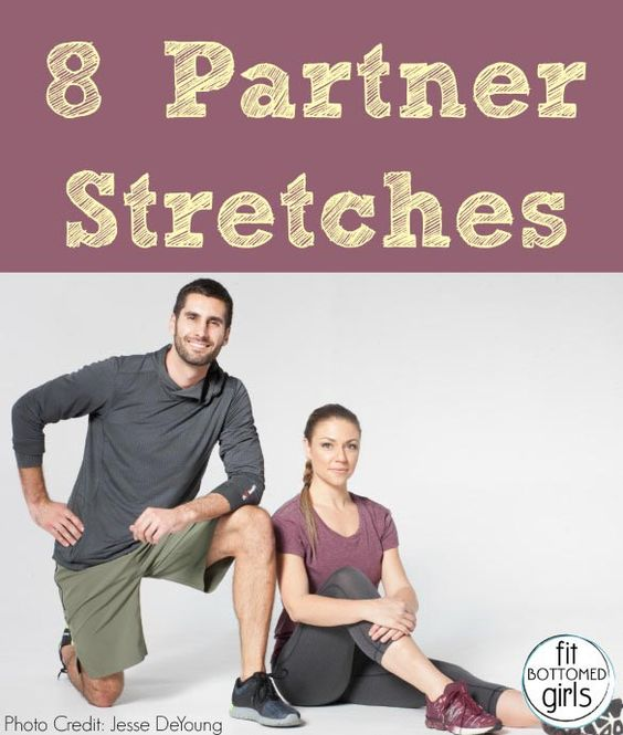 Grab your fit bud and get to doing these partner stretches from trainer Shay Kostabi and yoga instructor Barry Ennis.
