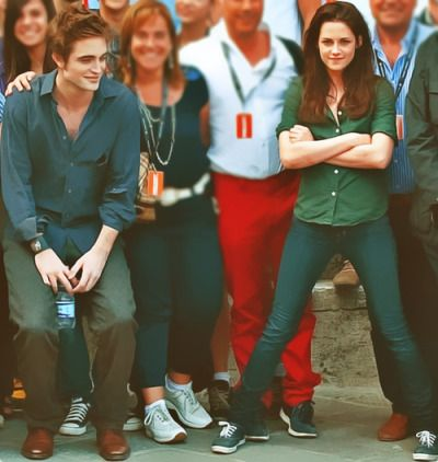 Tumblr RK to n the set of New Moon
