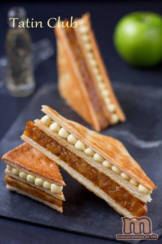 Tatin Club - revisite de la tarte Tatin façon sandwich club - Macaronette et cie