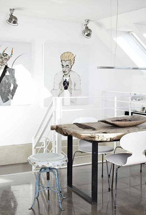 Méchant Design: artist house