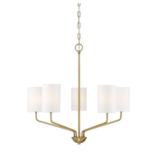 251 First Eloise Natural Brass Five Light Chandelier Bellacor In 2021 Chandelier Lighting Brass Chandelier Chandelier