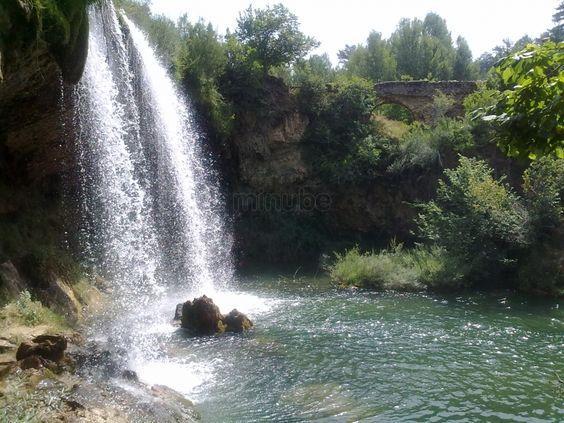 CASCADA DE CALOMARDE (Teruel)