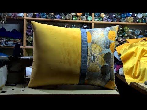 طريقة خياطة مخدة لكرافاطة بشكل جديد Cushion Sewing Method Youtube Pillows Throw Pillows Sewing Techniques