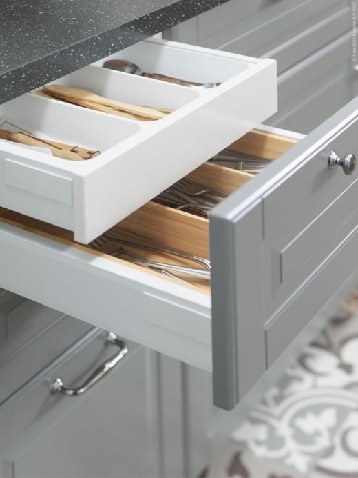 Keuken Lade Organizer : Kitchen tools keukenlade Besteklade Organizing Bestek
