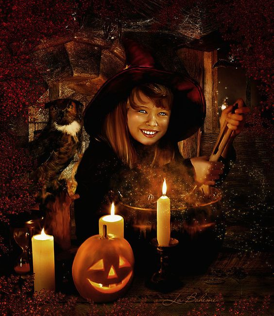 Witch Apprentice by La--Boheme
