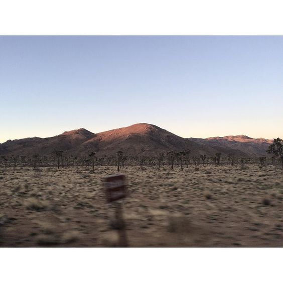 High desert dawn at speed #iphonesia by stevenperillouxphoto